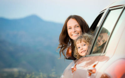 Hvordan få mest ut av bilferien med barna?